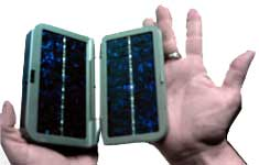 Portable Smart Solar Charger for Cell Phones & Personal Electronics