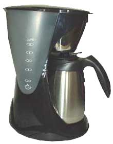 Creative Energy Technologies Inc: RoadPro, MSS-853CM, 12 Volt Stainless Steel 10 Cup Coffee Maker